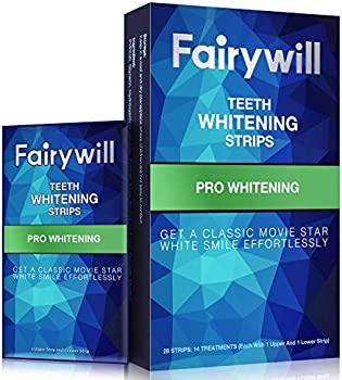 Fairywill Non-Slip Professional Effect Teeth Whitening Strips