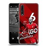 Head Case Designs sous Licence Officielle Liverpool Football Club Thiago Alcântara 2021/22...