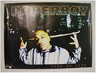 Paperboy Poster Paper Boy city to city