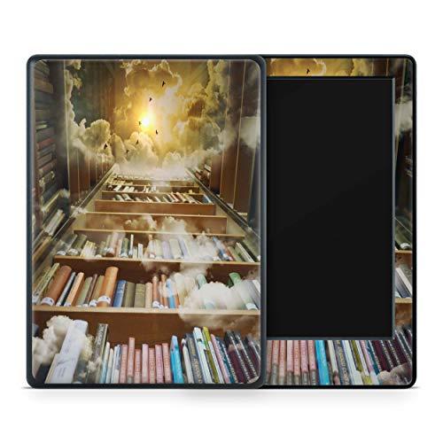 Skins4u Amazon Kindle Paperwhite 2018 Skin Aufkleber Design Schutzfolie Mystic Library