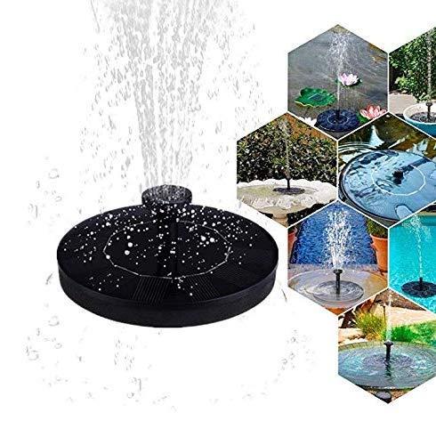 Fuente de agua portátil alimentada por energía solar, bomba de fuente de baño para pájaros, kit de…