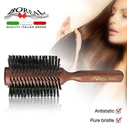 Cepillo para el pelo antiesttico de haya...