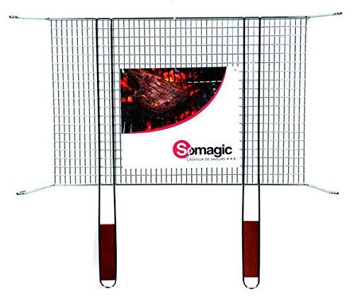 Somagic SO476240 Grille Simple sur Pieds 60 x 40 cm