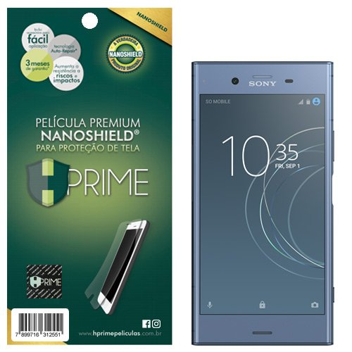 Pelicula HPrime NanoShield para Sony Xperia XZ1, Hprime, Película Protetora de Tela para Celular, Transparente