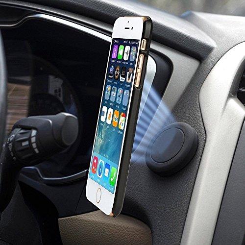 Elektro Goods Soporte magnético para Celular – imán Adhesivo para Detener tu Smartphone en tu Auto – para iPhone, Samsung, LG, Sony, Huawei y Otros Smartphones - maneja con Seguridad – garantía 1 año