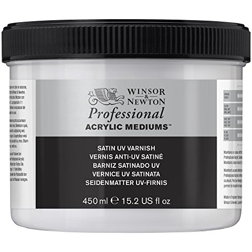Winsor & Newton - Vernice acrilica opaca, resistente ai raggi UV, 450 ml