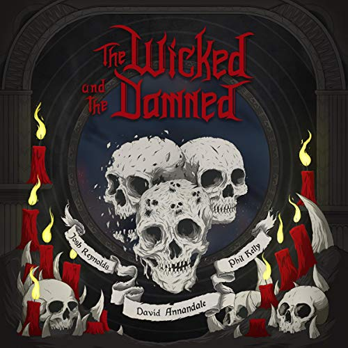 The Wicked and the Damned audiobook cover art