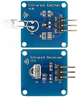 ILS - Trasmettitore a infrarossi Mini 38KHz IR Modulo + IR a raggi infrarossi Ricevitore modulo del sensore per Arduino RP...
