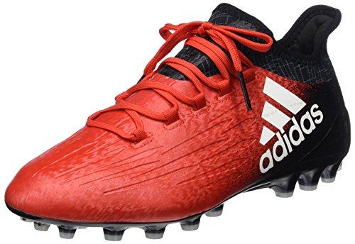 adidas X 16.1 AG, Botas de fútbol para Hombre, Rojo (Red/FTWR White/Core Black), 43 1/3 EU