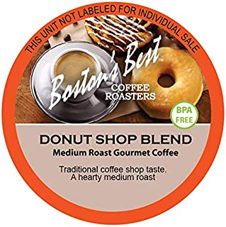 Boston's Best Coffee Roasters, Donut Shop, Single Serve Cup 100Count (Compatible with 2.0 Keurig Brewers)