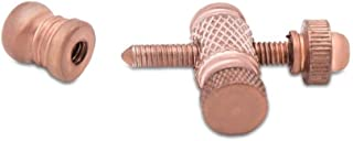 Copper Front and Rear Binding Post Set