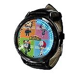 My Hero Academia Reloj con Pantalla táctil Led Resistente al Agua Reloj de Pulsera con luz Digital Unisex Cosplay Regalo Nuevos Relojes de Pulsera niños-A017