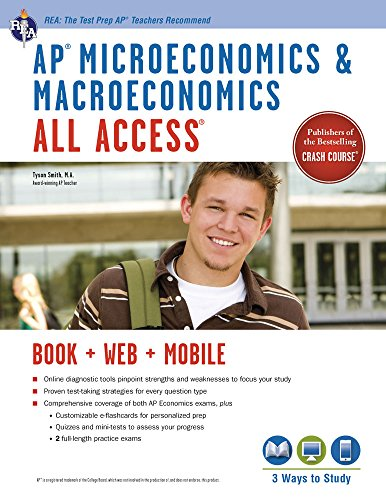 AP Micro/Macroeconomics All Access Book + Online + Mobile (Advanced Placement (AP) All Access)