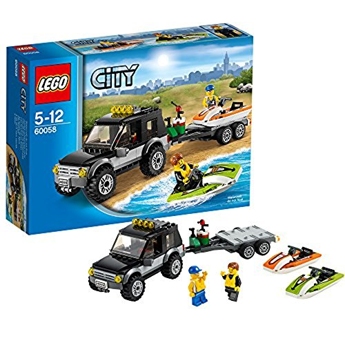 LEGO City - Furgoneta con lancha (60058)