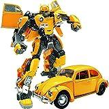 DKaony Transformers Juguete Robot, Optimus Prime Bumblebee Cyberverse Adventures Warrior Class Optimus Prime Figura de acción Juguete,Figura de acción de Juguete Transformers para fanáticos.