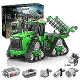TARS Juego de construcción de tractor de ingeniería, 1706 piezas, modelo de 4 ruedas teledirigido con 3 motores, compatible con la técnica Lego