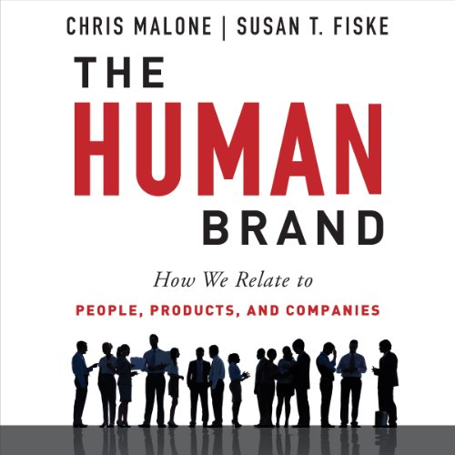 The Human Brand audiobook cover art