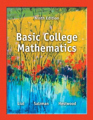 Basic College Mathematics (MyMathLab)