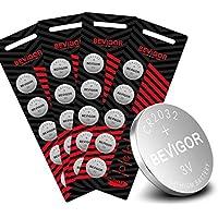 20-Count Bevigor CR2032/CR2016/CR2025 3V Lithium Coin Battery