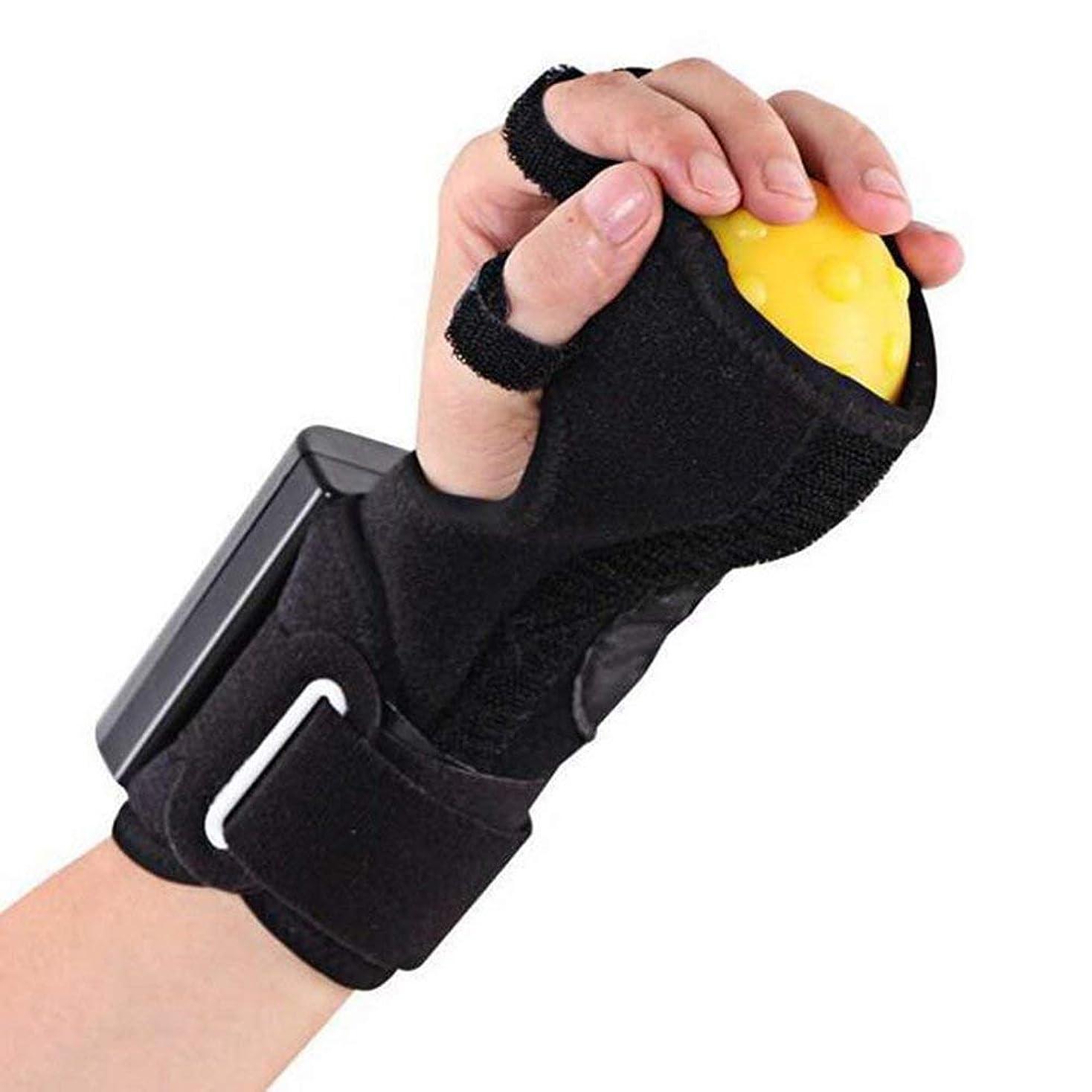 影信号抑制する電動ハンドマッサージボールホットコンプレッサーと抗痙攣ボール有料指圧装置スプリント片麻痺の指回復マッサージ療法