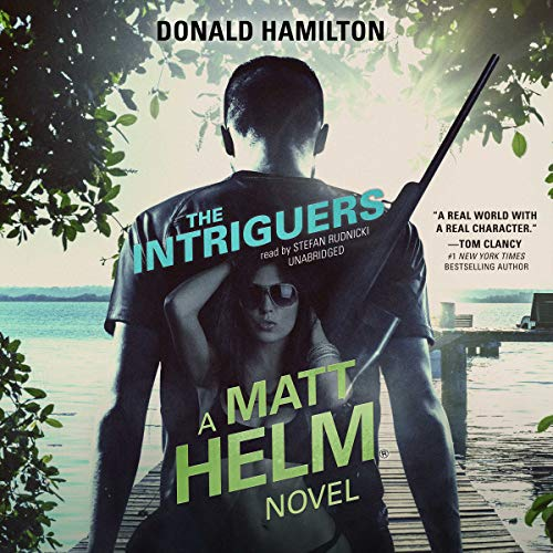 The Intriguers audiobook cover art