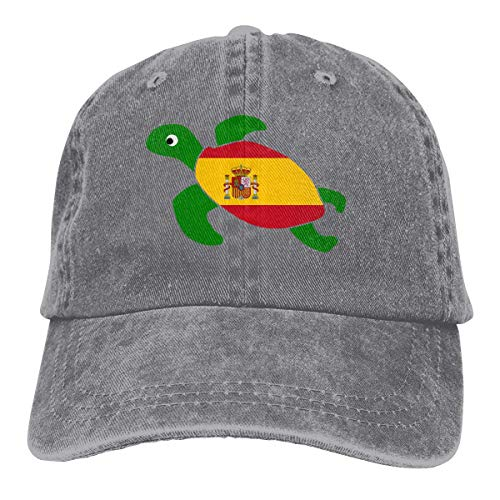 Desconocido Gorras de béisbol de Tela de Mezclilla Ajustable para Hombres/Mujeres Gorra...