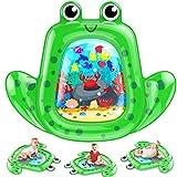 VATOS Baby Wassermatte Groß, Baby Spielzeug 3 6 9 Monate , aufblasbare Wasserspielmatte ist perfektes sensorisches Spielzeuggeschenk Das Stimulationswachstum Ihres Neugeborenen