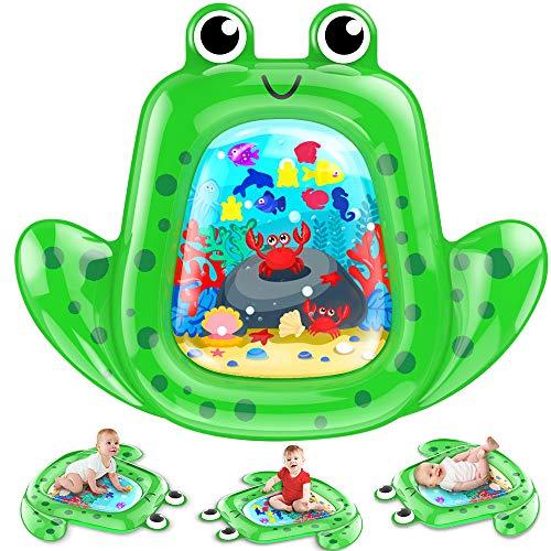 VATOS Tappetino Gonfiabile per Bambini Tappetini per Neonati Tappetino per Giochi d'Acqua Bambini Tempo di Divertimento Perfetto Centro attività per Bambini