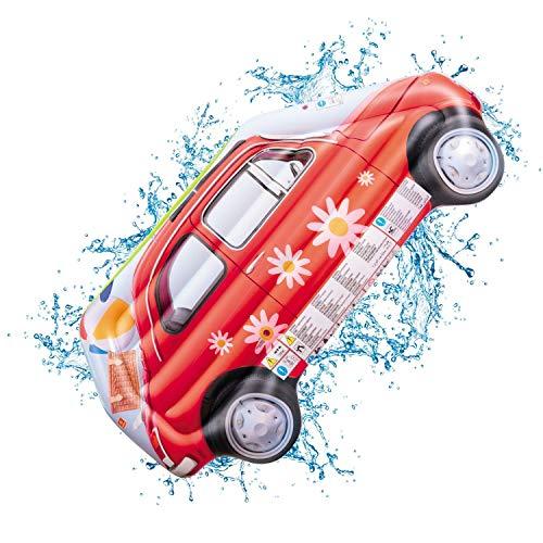Mondo Toys - Air Mat Jumbo Vintage Car - Materassino d'acqua gonfiabile forma di macchina auto vintage - ideale per mare, spiaggia, piscina - per adulti e bambini - 78 x 183 cm - 16727