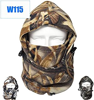 Dxnona® Outdoor Warm Windproof Camouflage Fleece Head Hat Face Mask