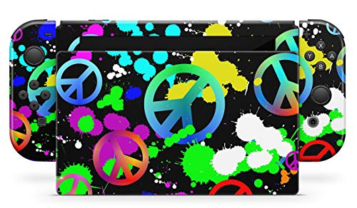 Skins4u Aufkleber Design Schutzfolie Vinyl Skin kompatibel mit Nintendo Switch Konsole & Controller Unity