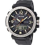 casio orologio multi-quadrante quarzo da uomo con cinturino in resina prg-600-1er
