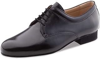 Werner Kern Hombres Zapatos de Baile 28048 - Cuero Negro - 2 cm Ballroom