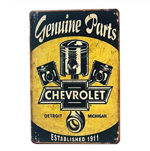 BOHE1ANVV Eisenmalerei Zinnmetall Malerei Vintage Plaque 20 * 30cm Vintage Zeichen Motoröl Metall Plaque Poster Bar Pub Garage Retro Wanddekoration