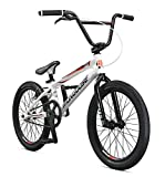 Mongoose Title Elite Pro BMX Race Bike, 20-Inch Wheels, Advanced Riders, Professional-Grade Tectonic...