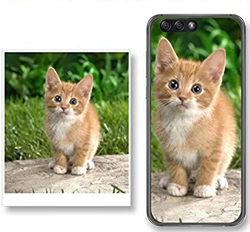 Personaliza tu Funda Gel Silicona Transparente con tu Fotografia para Xiaomi Redmi 9 Dibujo Personalizada