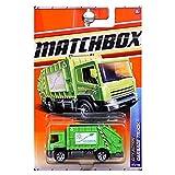 Matchbox 2011 City Action Go Green Garbage Truck Trash...