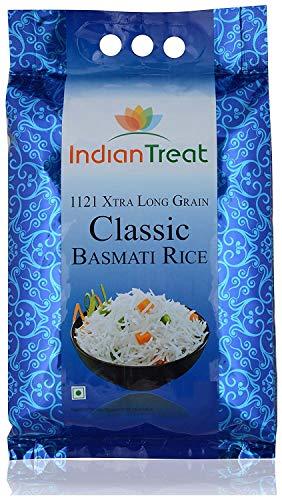 TAJ Indian Treat Classic Basmati Rice Extra Long Grain 10Pounds