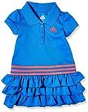 addias Baby Girls Li'l Sport Active Polo Dress, Bright Blue, 9 Months...