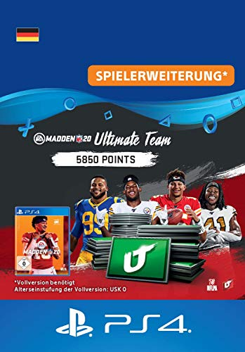 Madden NFL 20 - 5850 Ultimate Team Points - 5850 Ultimate Team Points DLC | PS4 Download Code - deutsches Konto