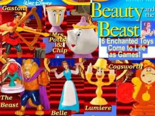 Mcdonalds Beauty and the Beast #1 2002
