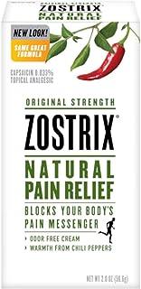 Sponsored Ad - Zostrix Original Strength Pain Relief Topical Analgesic Cream, Capsaicin Pain Reliever, Odor Free, 2 Ounce ...