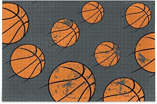 Rompecabezas para adultos 1000 - Puzzle de baloncesto difíciles piezas para tag2 tag1 Juegos de Puzzle