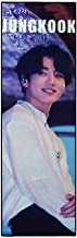 Chutoral Kpop BTS Banners, Kpop Bangtan Boys Hang Up Poster Concert Airport Fabric Banner Tempo Album Hand Holder Slogan Poster Fans Gift, 45x15cm(Jung Kook)