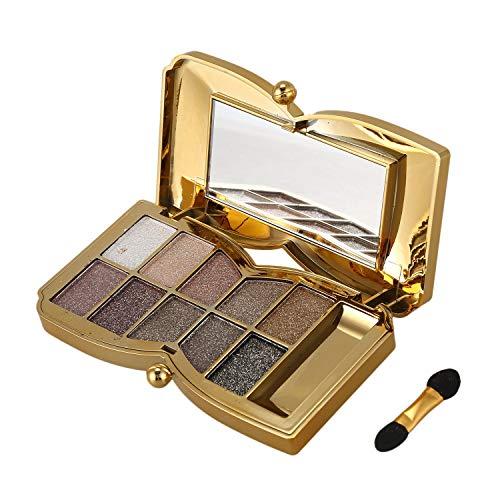 Lidschatten - TOOGOO(R)Diamant Helle bunte Make-up Lidschatten Super Make-Up Set...