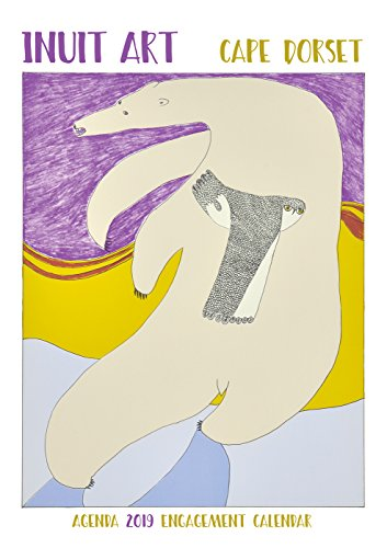 Inuit Art - Cape Dorset 2019 Calendar (English and )