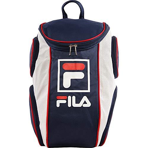 Fila Heritage Tennis Backpack, Peacoat, One Size