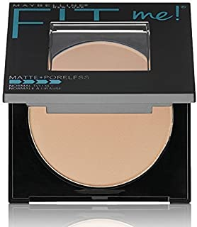 Maybelline New York Fit Me Matte Poreless Powder, 220 Natural Beige, 8.5g