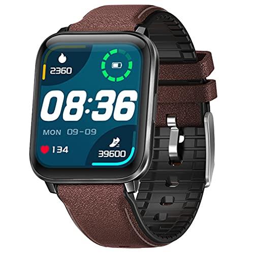 Smart Watch da 1,7 pollici, fitness tracker con cardiofrequenzimetro, monitoraggio del sonno, contapassi, impermeabile IP68, per uomini e donne, per iPhone e telefoni Android