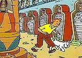 MKAN Anime Cartoon Jigsaw Puzzles 1000 Piezas Puzzle De Madera Aventuras De Tintín Y Perro-Rompecabezas Clásicos Juguetes De Descompresión 50X75Cm